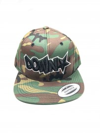 Downstar Camo OG Logo Snap Back