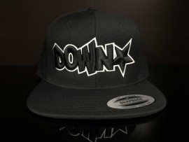 Downstar OG Logo Black Snap Back