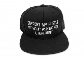 Support My Hustle Snap Back