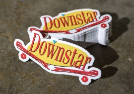 Downstar Skate x Rywire Collab Sticker Pack
