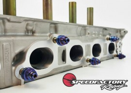 Speedfactory Racing Burnt Titanium K-Series Exhaust Manifold Stud Kit