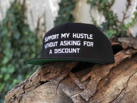 Support My Hustle 5 Panel Snap Back