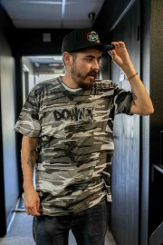 Downstar Snow Camo Tee