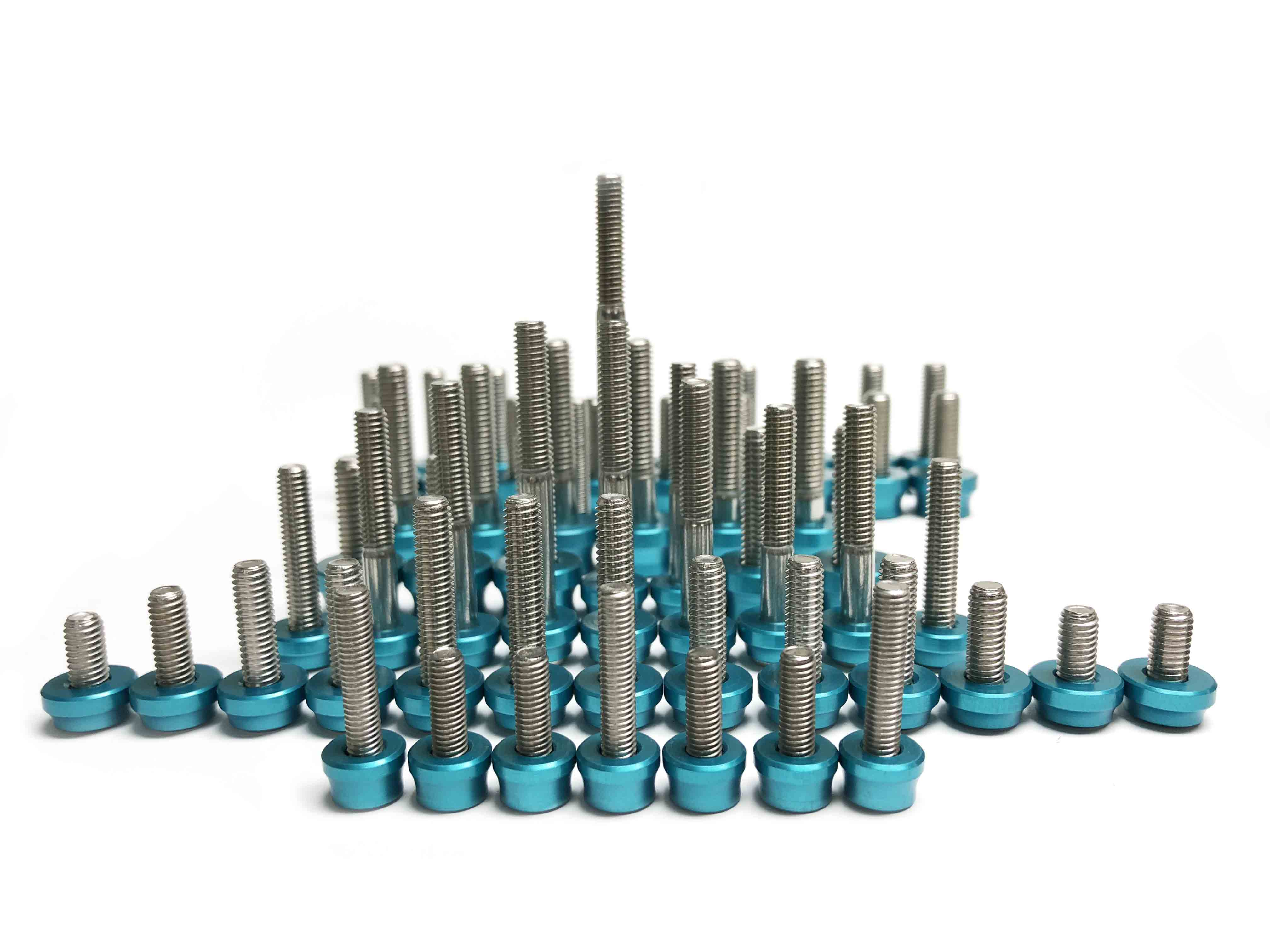 M8 Titanium Washer by Dress Up Bolts